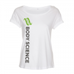 Body Science Loose Fit Tee, Wmn