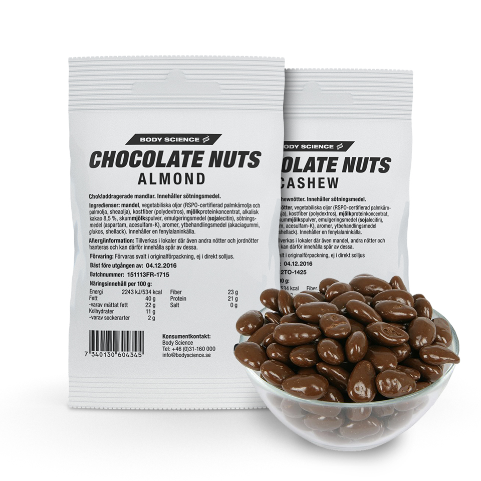 Chocolate Nuts 2-pack