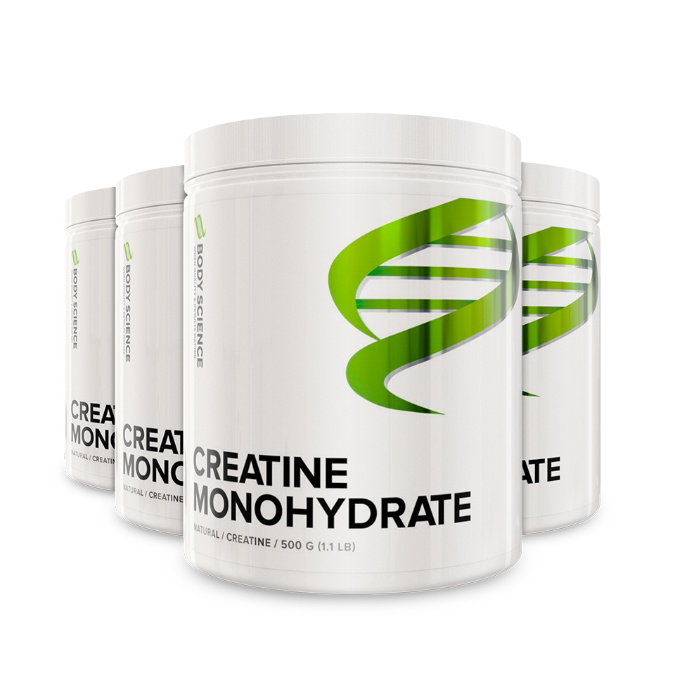 Creatine Monohydrate 4-pack