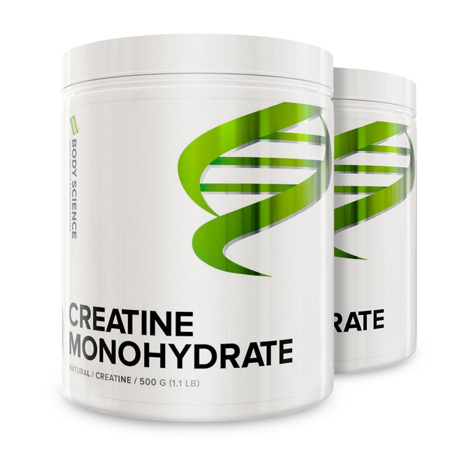 Creatine Monohydrate 2-pack
