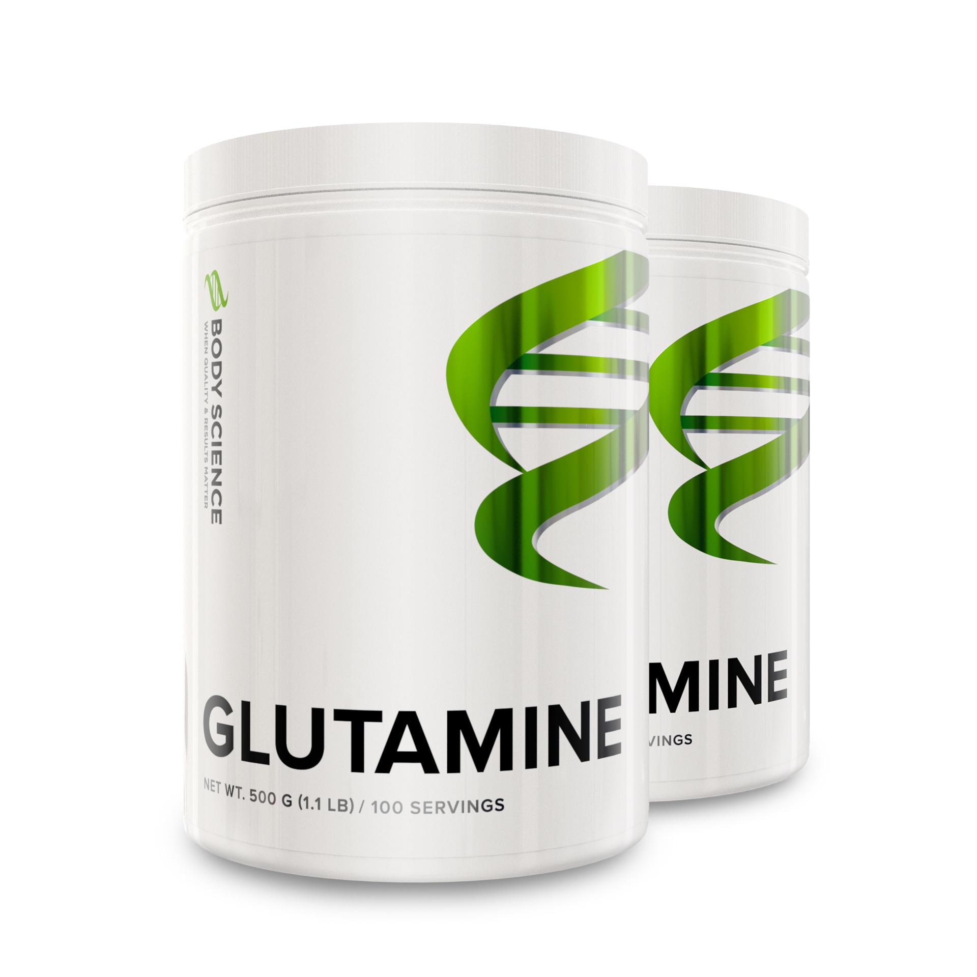 Glutamine 2-pack
