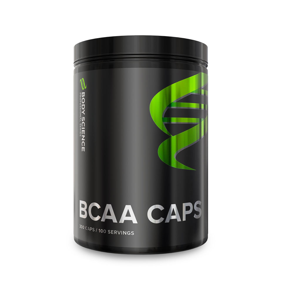 Body Science BCAA Caps, BCAA-kapslar
