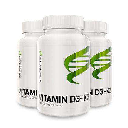 Vitamin D3+K2 - 300 kapslar